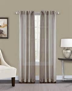 Semi Sheer Curtains Percy Semi Sheer Stripe Curtain Panel Curtainworks