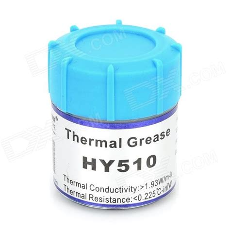 Pasta Pendingin Thermal Grease Hy510 מוצר hy510 cpu thermal grease silver grey