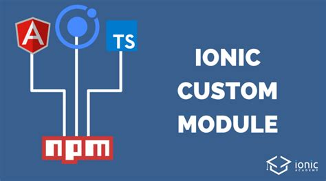 ionic modal tutorial how to publish a custom ionic module with npm devdactic