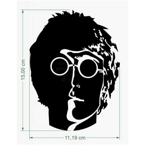 Fenster Aufkleber Online by Aufkleber John Lennon Silhouette Schaufensteraufkleber
