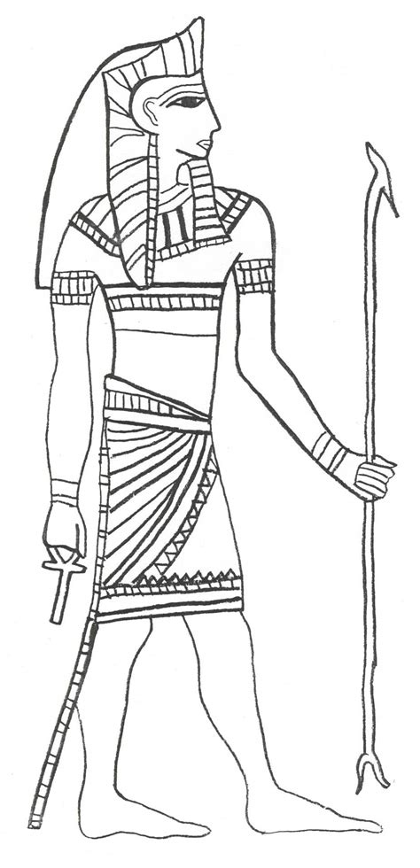 egyptian coloring book pages free coloring pages of ancient egyptian gods