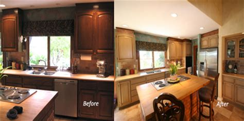 how to lighten dark cabinets in kitchen brighten up your kitchen cabinets 171 marcelino custom