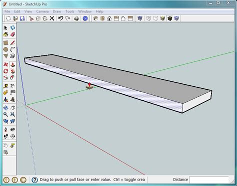 sketchup layout rectangle dimensions 1 building a bench your first sketchup model google