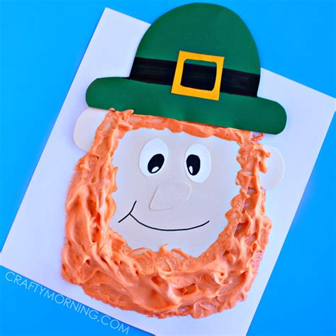 leprechaun crafts for paint leprechaun craft for crafty morning