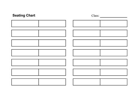 Seating Chart Template Beepmunk Classroom Seating Chart Template