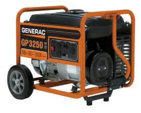 home depot generators generac gp 3250 watt portable generator the home depot