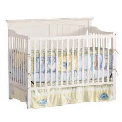bassett baby cape cod iii 4 in 1 convertible crib in white