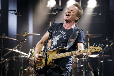 Miss America Helps Cops In Sting by Sting Showcases Versatility Depth And Enduring Rock Power