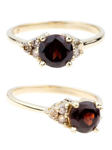 best 25 garnet rings ideas on my birthstone