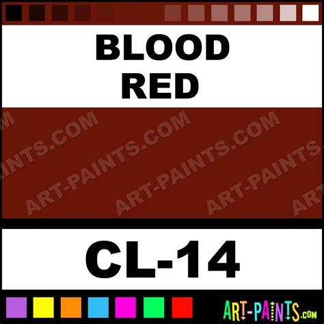blood red paint blood red color liner body face paints cl 14 blood red