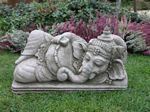 Garden Ornaments Ganesh Garden Ornament Ef6 163 29 99 Garden4less Uk Shop