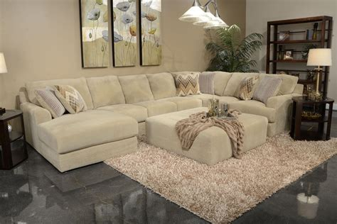 sand colored couch six seat sectional sofa by jackson furniture wolf and