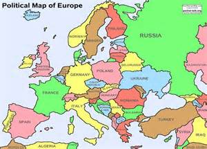 Modern Map Of Europe by Sage2012 Geography Of Europe