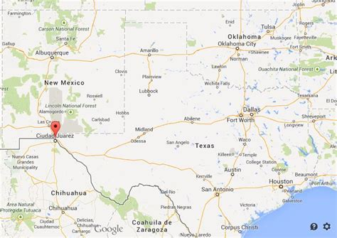 elpaso texas map where is el paso on map of texas world easy guides