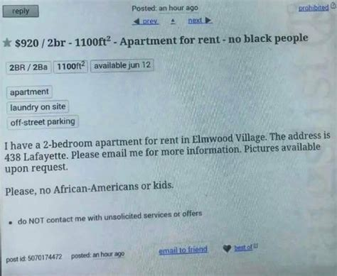 this apartment rental ad listed on craigslist actually