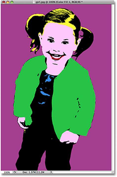 tutorial photoshop art pop simple pop art effect photoshop tutorial
