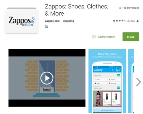 zappos shoes clothes more android apps on google play top 10 discount clothing apps for guys and women andy tips