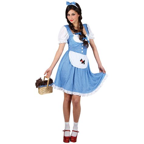 Oz Dres Mickey Whiite dorothy wizard of oz costumes costumes fc