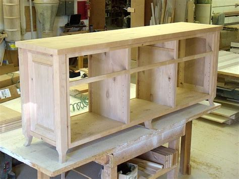 Attaching Frame To Cabinet Carcass by Media Cabinet Custom Furniture And Cabinetry In Boise
