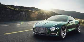 Bentley Six Bentley To Build Electric Car May Borrow From Exp 10