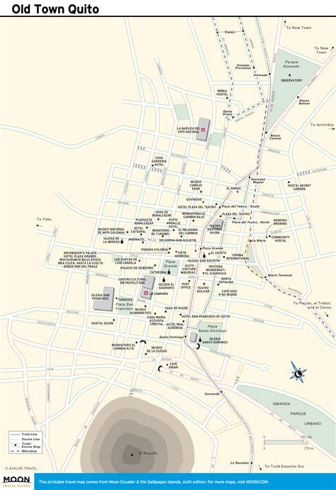 printable map quito printable travel maps of ecuador the gal 225 pagos moon