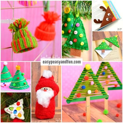 easy christmas crafts for schools festive crafts for tons of and crafting ideas easy peasy and