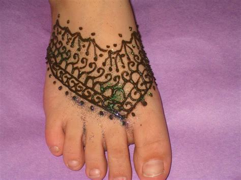 henna foot tattoo designs by jenn henna tattoos
