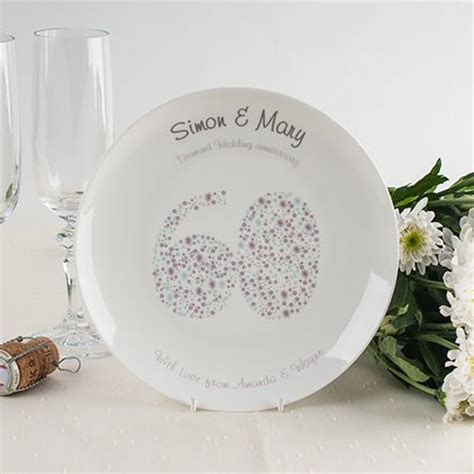 60th anniversary gifts 60th wedding anniversary gifts gettingpersonal co uk