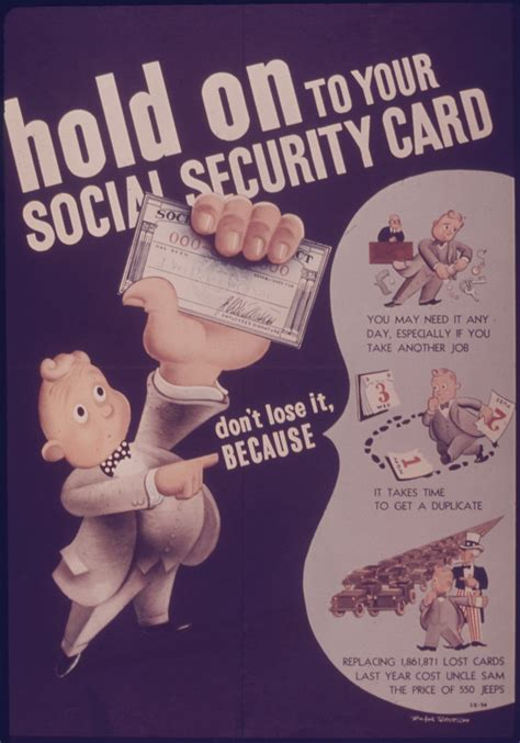 What Time Do The Social Security Office Open by File Poster Quot Hold On To Your Social Security Card Quot Nara
