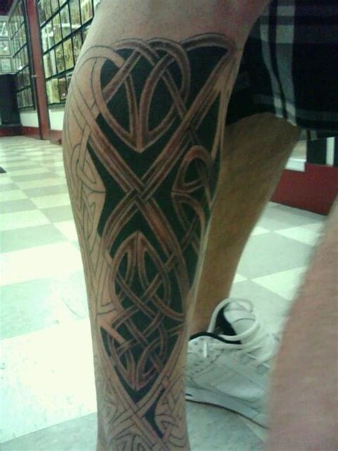 51 unique celtic tattoos on leg