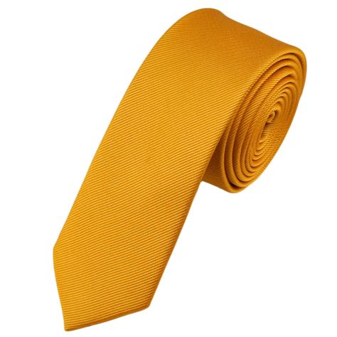 plain gold silk tie from ties planet uk