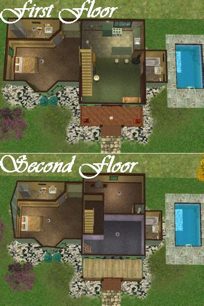 sims 2 house floor plans mod the sims woodland starter sims 2 only