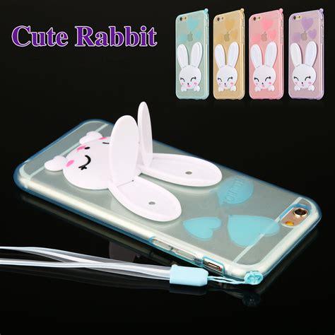 Softcase Kartun Rabbit Soft Cover Samsung Galaxy J5 2015 3d rabbit kickstand soft tpu cover phone for samsung galaxy s7 edge j5 j7 ebay
