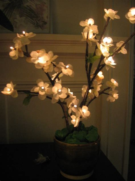 diy how to make cherry blossom led tree lights