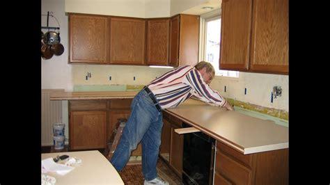Build Kitchen Countertop by Diy Kitchen Countertop Remodel