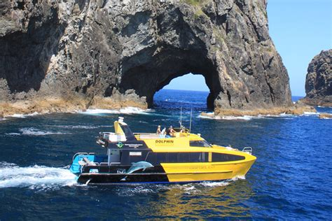 rock the boat tour nz explore nz hole in the rock cruises bay of islands