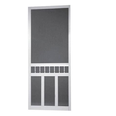 36 X 80 Vinyl Screen Door by Diy 36 Inch X 80 Inch Waccamaw Solid Vinyl Screen Door