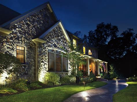 front yard landscape lighting ideas
