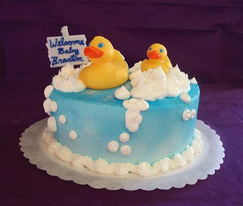 Duck Baby Shower Cake by 690px