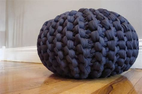 pouf pattern knit knitted pouf patterns a knitting