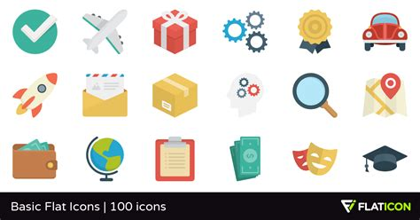 Basic Icon by Basic Flat Icons 100 Free Icons Svg Eps Psd Png Files