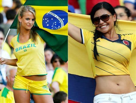 Osbourne Flashed At World Cup by чм 2014 девушки болельщицы всех четвертьфиналистов