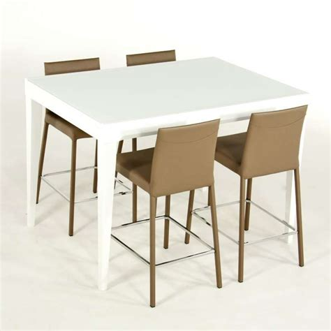 Charmant Table Console Extensible Fly #4: table-fly-blanche-en-verre-avec-allonge-hauteur-90-cm.jpg