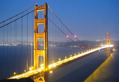 the bridge and the golden gate bridge the history of americaã s most bridges books file golden gate bridge bei nacht jpg wikimedia commons