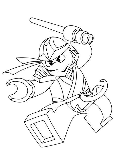 Ninjago Printable Coloring Pages Momjunction | zane ninjago coloring pages for kids printable free