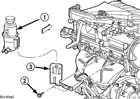 2006 pt cruiser engine diagram how do i remove and reinstall the on a 2006 pt cruiser