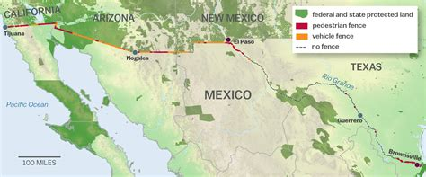 us mexico border wall map the ecological disaster that is s border wall a