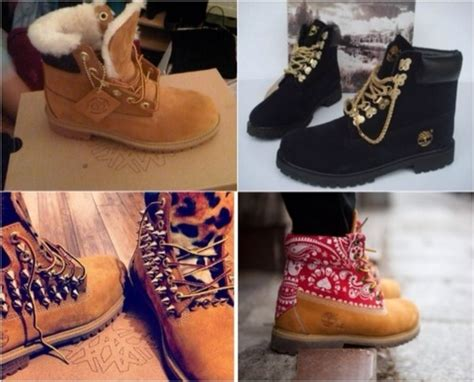 custom made timberland boots by glamorousfeet on etsy