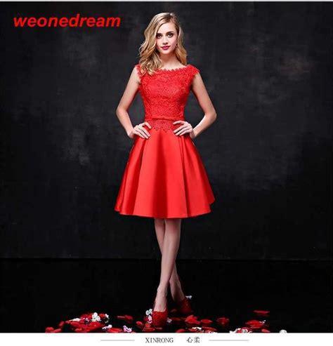 vestidos rojos de encaje cortos las 25 mejores ideas sobre vestidos rojos cortos en