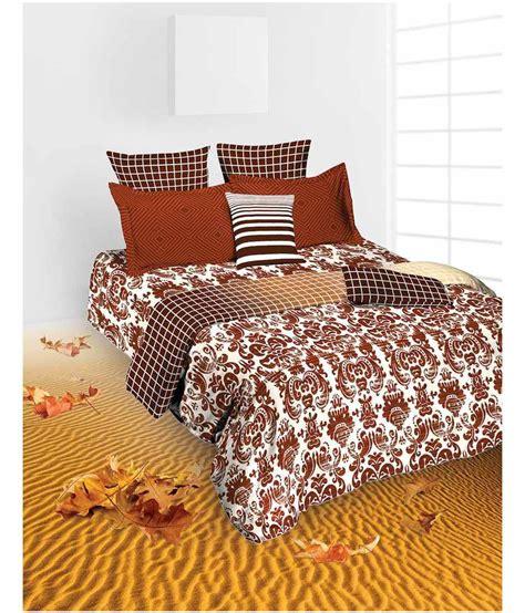 brown cotton comforter tangerine brown ethnic cotton comforter microfiber buy